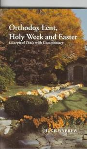 Orthodox Lent, Holy Week and Easter PDF