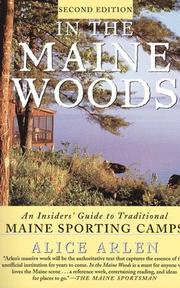 In the Maine woods by Alice Arlen