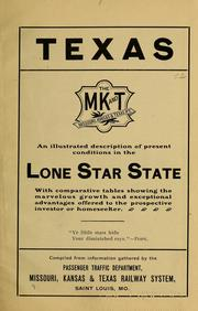 Texas ... an illustrated description of present conditions in the Lone Star state PDF