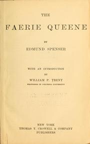The Faerie queene PDF