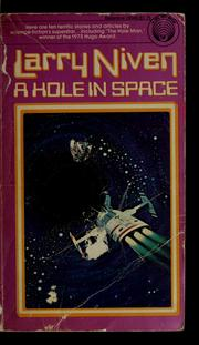Cover of: A Hole in Space by Larry Niven