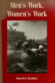 Men's work, women's work PDF