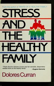 Stress and the healthy family PDF