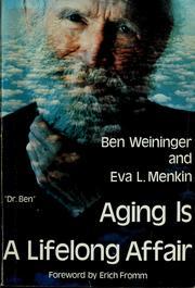 Aging is a lifelong affair PDF