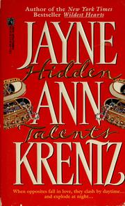Cover of: Hidden talents by Jayne Ann Krentz