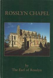 Cover of: Rosslyn Chapel by Rosslyn, Peter St. Clair-Erskine Earl of