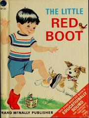 Cover of: The little red boot by Marjorie Barrows