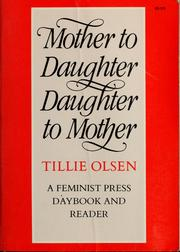 Mother to daughter, daughter to mother, mothers on mothering PDF