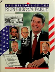 Pictorial history of the Republican Party by Beryl Frank