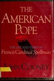 The American pope by John Cooney