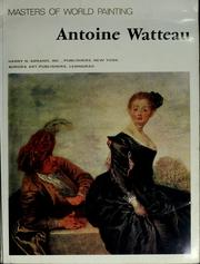 Cover of: Antoine Watteau by Antoine Watteau