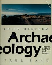 Cover of: Archaeology by Colin Renfrew