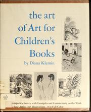 The art of art for children's books by Diana Klemin