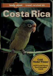 Cover of: Costa Rica by Rob Rachowiecki