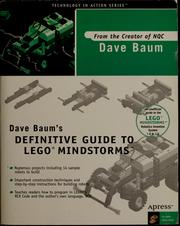 Dave Baum's definitive guide to Lego Mindstorms by Dave Baum