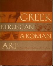 Greek, Etruscan, &amp; Roman art by Museum of Fine Arts, Boston.