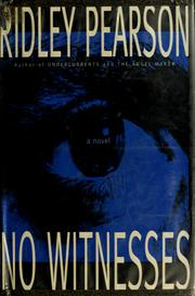 Cover of: No witnesses by Ridley Pearson