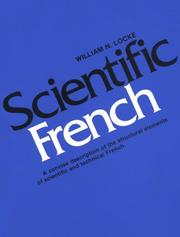 Scientific French by William N. Locke