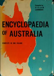 Encyclopaedia of Australia by A. T. A. Learmonth