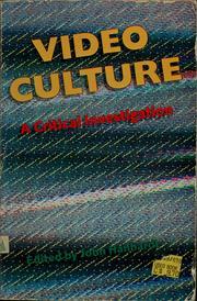Video culture PDF