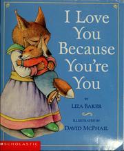 I love you because you're you PDF