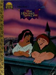 Cover of: Disney&#39;s the hunchback of Notre Dame by Justine Korman