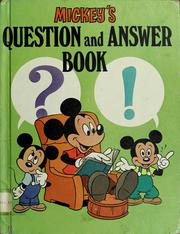 Mickey's question and answer book PDF
