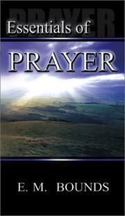 The essentials of prayer PDF