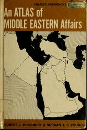 An atlas of middle eastern affairs PDF