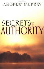 Secrets of Authority PDF