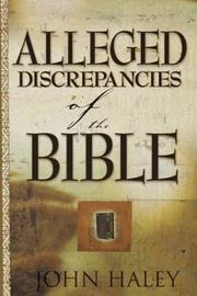 Alleged Discrepancies of the Bible PDF
