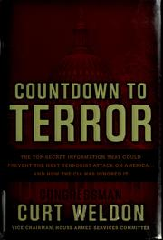 Countdown to terror by Curt Weldon