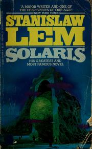 Cover of: Solaris by Stanisław Lem