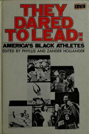 They dared to lead: America's Black athletes PDF
