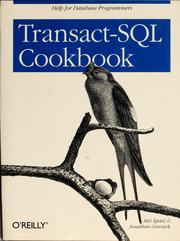 Transact-SQL cookbook by Aleš Špetič