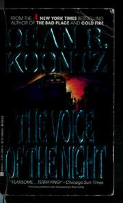 Cover of: The Voice of the night | Dean R. Koontz