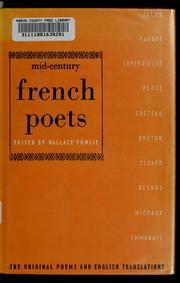 Mid-century French poets PDF