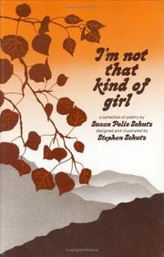 Cover of: I'm Not That Kind of Girl by Susan Polis Schutz