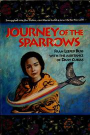 Cover of: Journey of the sparrows by Fran Leeper Buss