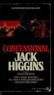 Cover of: Confessional | Jack Higgins