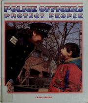 Police officers protect people PDF
