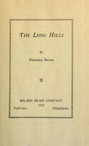 The long hills PDF