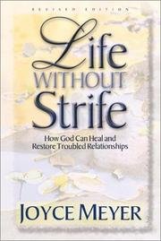 Life without strife by Joyce Meyer
