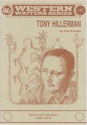 Tony Hillerman by Erisman, Fred