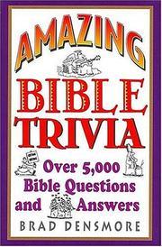 Amazing Bible Trivia PDF