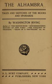 Cover of: The Alhambra by Washington Irving