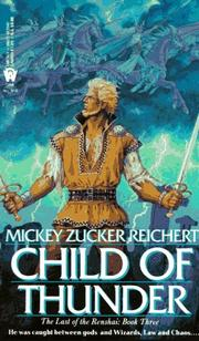 Cover of: Child of thunder by Mickey Zucker Reichert
