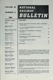 Cover of: The bulletin / [National Railway Historical Society] by National Railway Historical Society