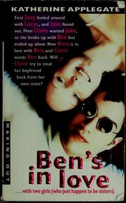 Cover of: Ben's in love