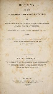 Botany of the northern and middle states, or, A description of the plants found in the United States, north of Virginia PDF
